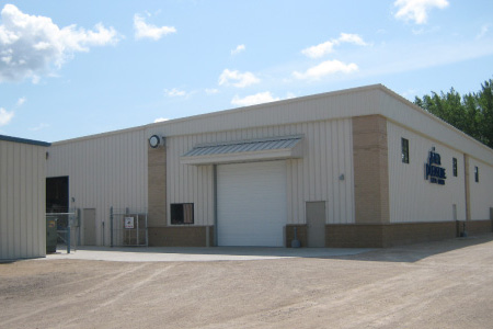 Outside View of Pier Pleasure Manufacturer, Building Addition in Mankato, Minnesota