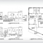 Architectural Floor Plans and Elevations, KK Berge Building, Building Renovation in Granite Falls, MN