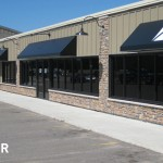 Exterior Right Side View of Galleria East Strip Mall After Remodel, Building Design in Mankato, Minnesota