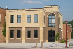 Architect Rendering, Front View of Corporate 4 Insurance Company, Corporate Office Addition Project in Mankato, Minnesota