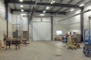 Inside View of Manufacturing Building, Pier Pleasure Manufacturer, Building Addition in Mankato, Minnesota