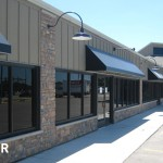 Exterior Left Side View of Galleria East Strip Mall After Remodel, Building Design in Mankato, Minnesota